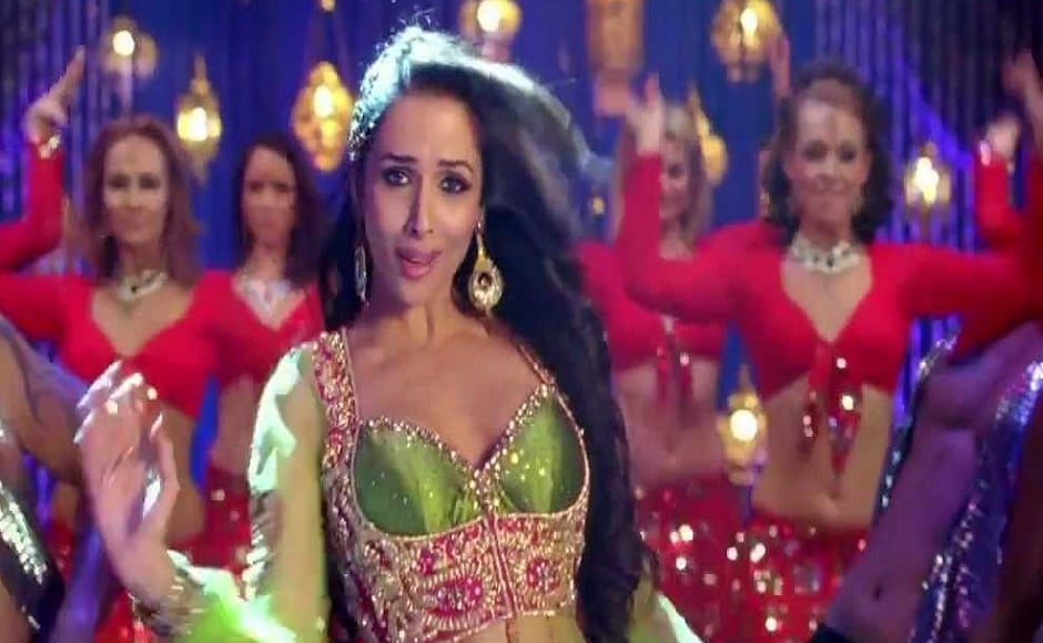 Arguably, Malaika's last popular song is 'Anaarkali Disco Chali' from Sajid Khan's 2012 comedy ensemble Housefull 2. She teamed up elaborate anarkalis with glamorous western outfits in this dance number