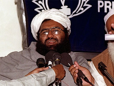 File photo of JeM chief Masood Azhar. AFP