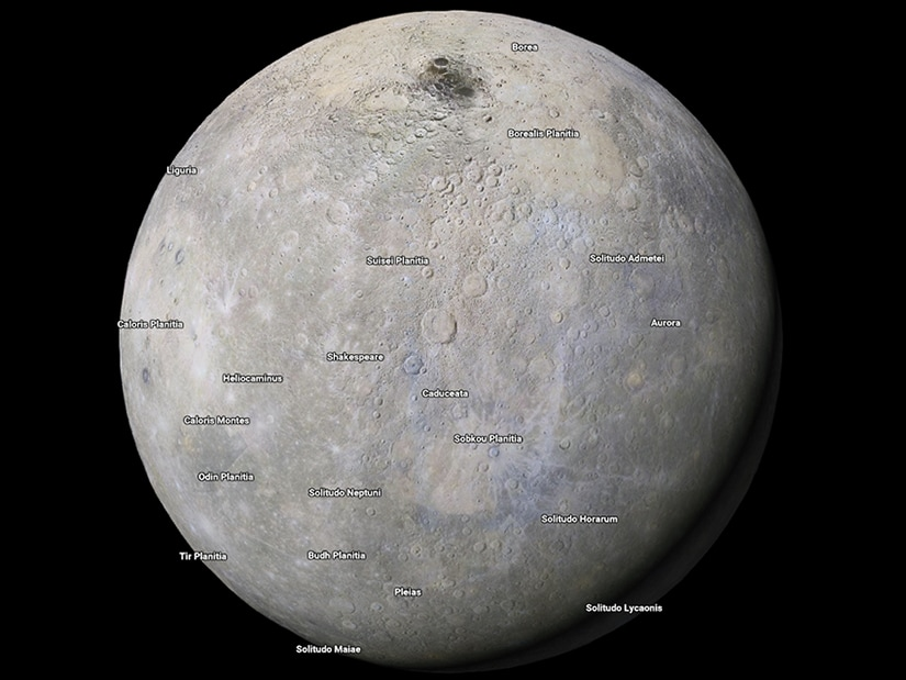 Google Maps now lets you explore other planets and moons in the solar system