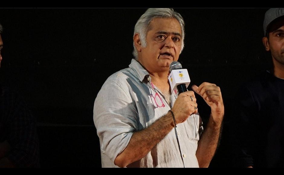Hansal Mehta called Omerta