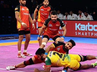Bengaluru Bulls and Patna Pirates played out a hard-fought 29-29 draw in the Vivo Pro Kabaddi Season 5. PKL website