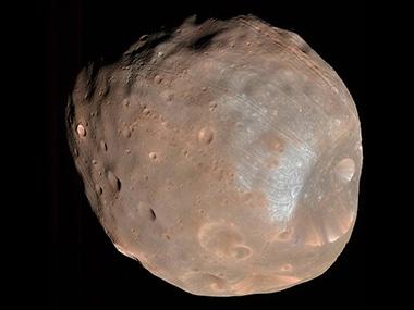Phobos as imaged by the MRO. Image: NASA.