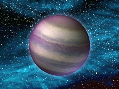 An artist's impression of Planet 9. Image: NASA.
