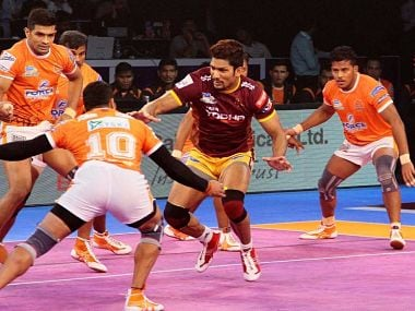 Pro Kabaddi League 2017: Puneri Paltans dogged persistence takes them past UP Yoddha in a thriller