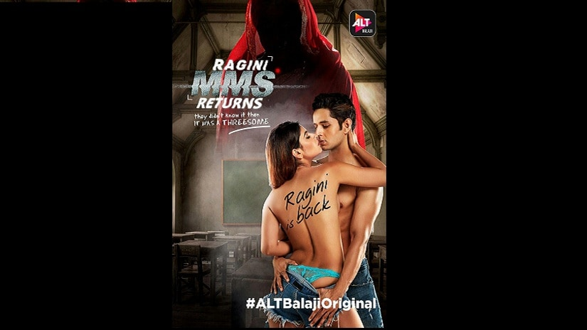 Poster of Ragini MMS Returns. Twitter@AltBalaji