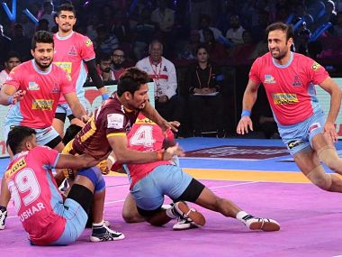 Rishank Devadiga created the record for most points scored by a raider ever in a Pro Kabaddi League match. Pro Kabaddi League website