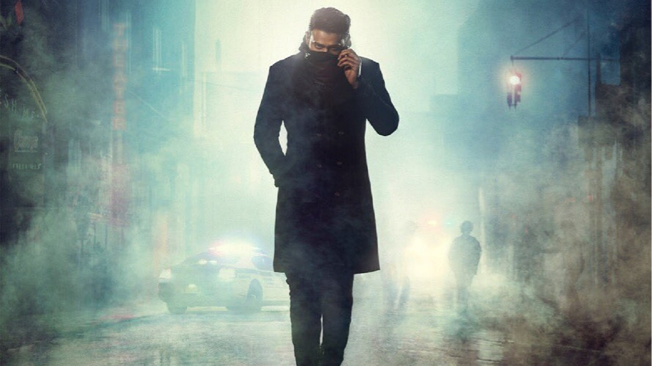 Prabhas in the first look of Saaho. Twitter@KaranJohar