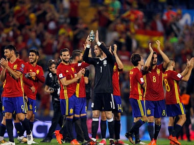 FIFA World Cup 2018 qualifiers: Spain book ticket to Russia, Italy forced to take play-offs route