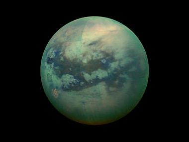 Titan. Image: NASA.