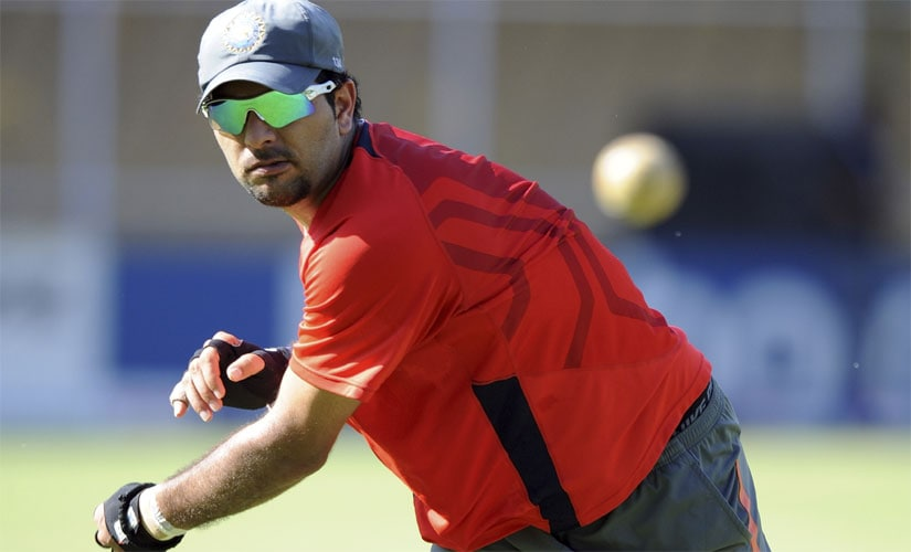 Yuvraj Singh going through fielding drill during the 2011 World Cup. One of best fielders India has ever seen, he revealed that he was once dropped from his state team as he was perceived as a bad fielder. AFP
