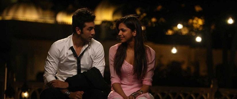 Ranbir Kapoor and Deepika Padukone in a still from Yeh Jawaani Hai Deewani