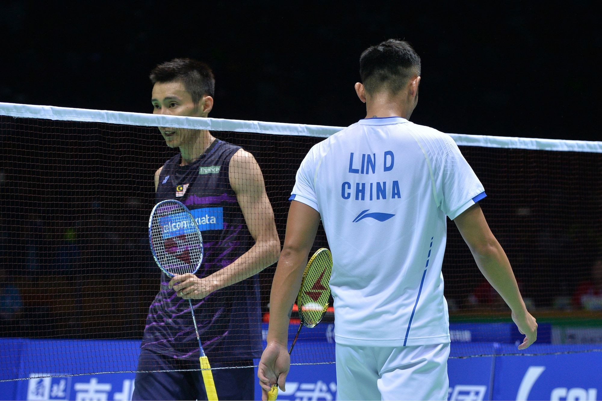 Lin Dan and Lee Chong Wei's legendary rivalry is one shaped by fierce battles and mutual admiration