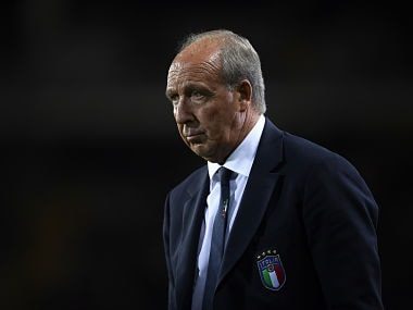 File image of Gian Piero Ventura. AFP