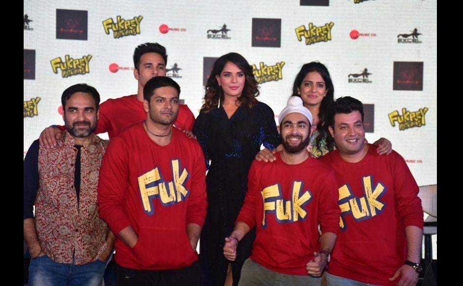 The Fukrey gang in all its glory.
