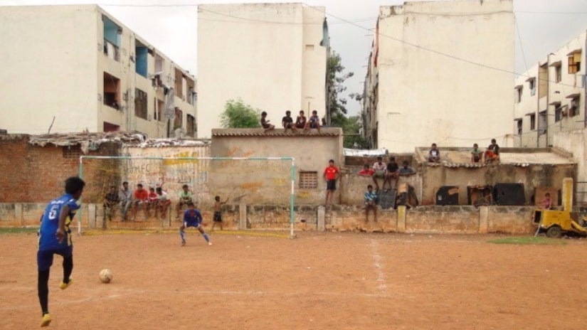 In Chennais slums, football is more than a sport; its a key to a better way of life