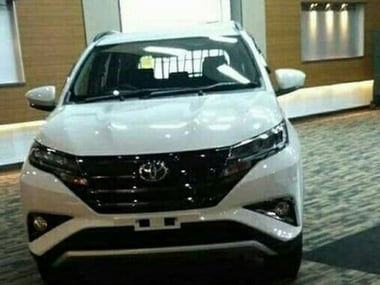 Toyota Rush SUV revealed through leaked images ahead of it launch