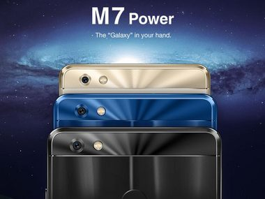 Gionee India launches M7 Power for Rs 16,999 with bezel-less display and 3D photo feature