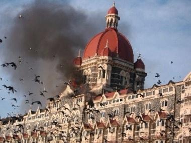 File image of 26/11 terror attack. PTI