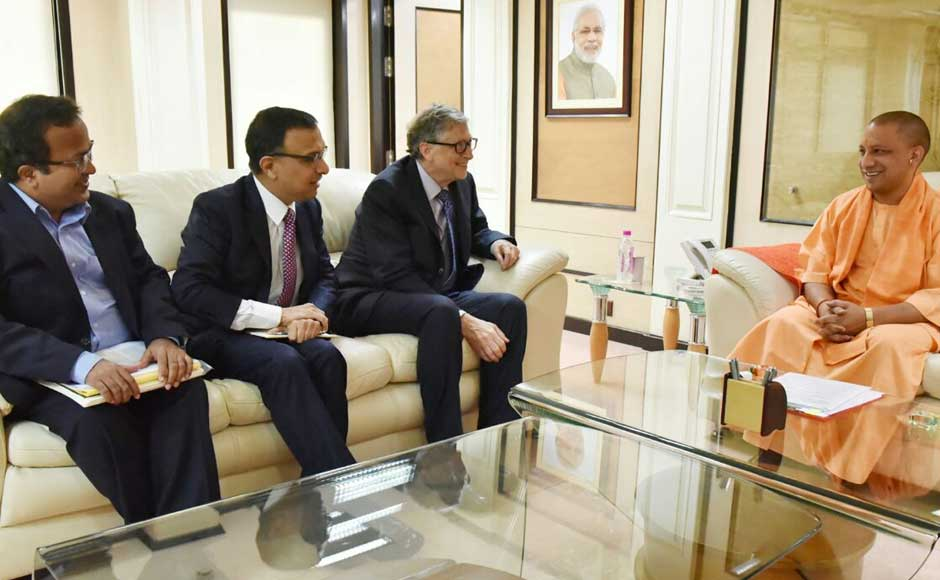 Gates said in the meeting that his organisation would like to help the state in controlling vector-borne diseases and improve sanitation, solid waste management and agriculture production techniques. Twitter @CMOfficeUP