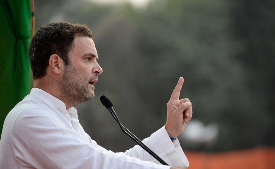 Rahul slammed the Modi administration at the rally, saying that the prime minister makes noise about Make in India, Swachh Bharat, start-up India, bullet trains and so on, but he has said nothing about the most important issue, employment. Twitter/INCIndia