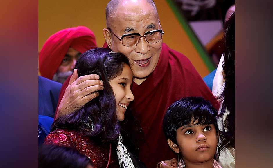 Dalai Lama also said the modern education system is oriented to material values. He proposed that India could take the lead in improving the education system by combining modern education with ancient knowledge. PTI