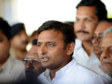 File image of Samajwadi Party leader Akhilesh Yadav. AFP