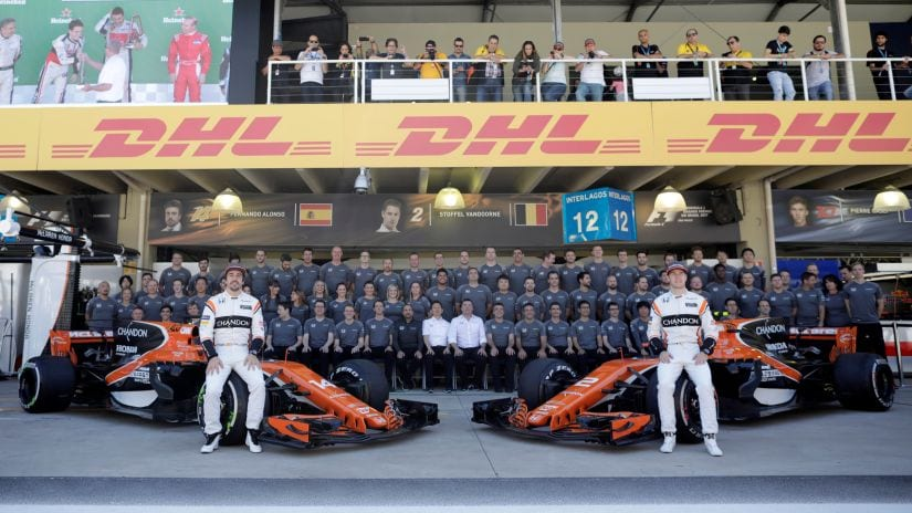 Despite all their troubles, the McLaren drivers Fernando Alonso and Stoffel Vandoorne managed to make something out of nothing in 2017. Reuters