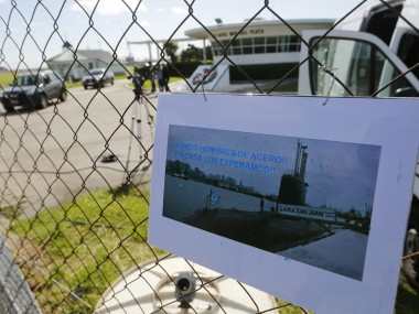 Multinational search intensified for Argentine submarine which went missing on Wednesday with 44 on board