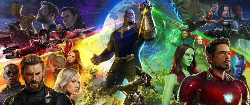 Avengers Infinity War fanart. Instagram: Steve Cas