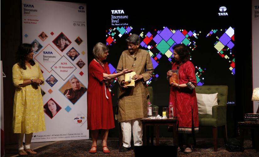 Kiran Nagarkar's 'Jasoda' and Nayantara Sahgal's 'When The Moon Shines By Day' were inaugurated by celebrated British novelist Dame Margaret Drabble at the Tata Literature Live! festival in Mumbai