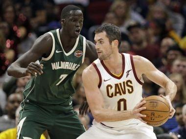 NBA: Cavaliers defeat Bucks despite Giannis Antetokounmpo's 40-point run; Kings stun Thunder