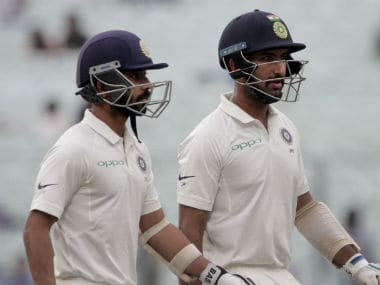 India vs Sri Lanka: Struggling hosts need Cheteshwar Pujara, Ajinkya Rahane to steady ship on Day 2
