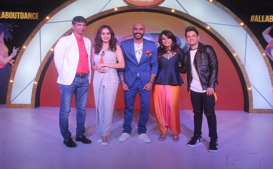 Popular reality show Dance India Dance launched its sixth season at an event in Mumbai on Tuesday