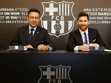 La Liga: Lionel Messi signs contract extension at Barcelona with whopping €700m buyout clause