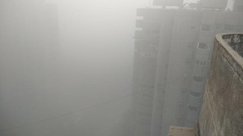 Smog in Delhi. Sanjay Singh/Firstpost