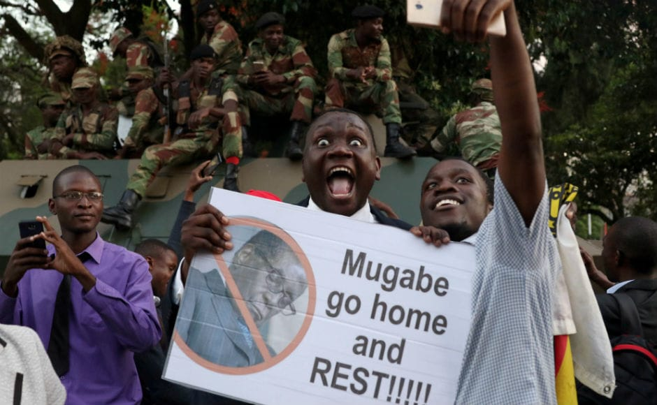 Mugabe's tenure ended in an announcement at a special joint session of parliament where MPs had convened to impeach the 93-year-old who dominated every aspect of Zimbabwean public life for decades.