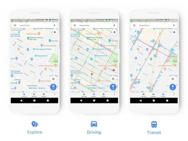Google Maps updated with a new look and features that sync Calendar and Mail to Maps