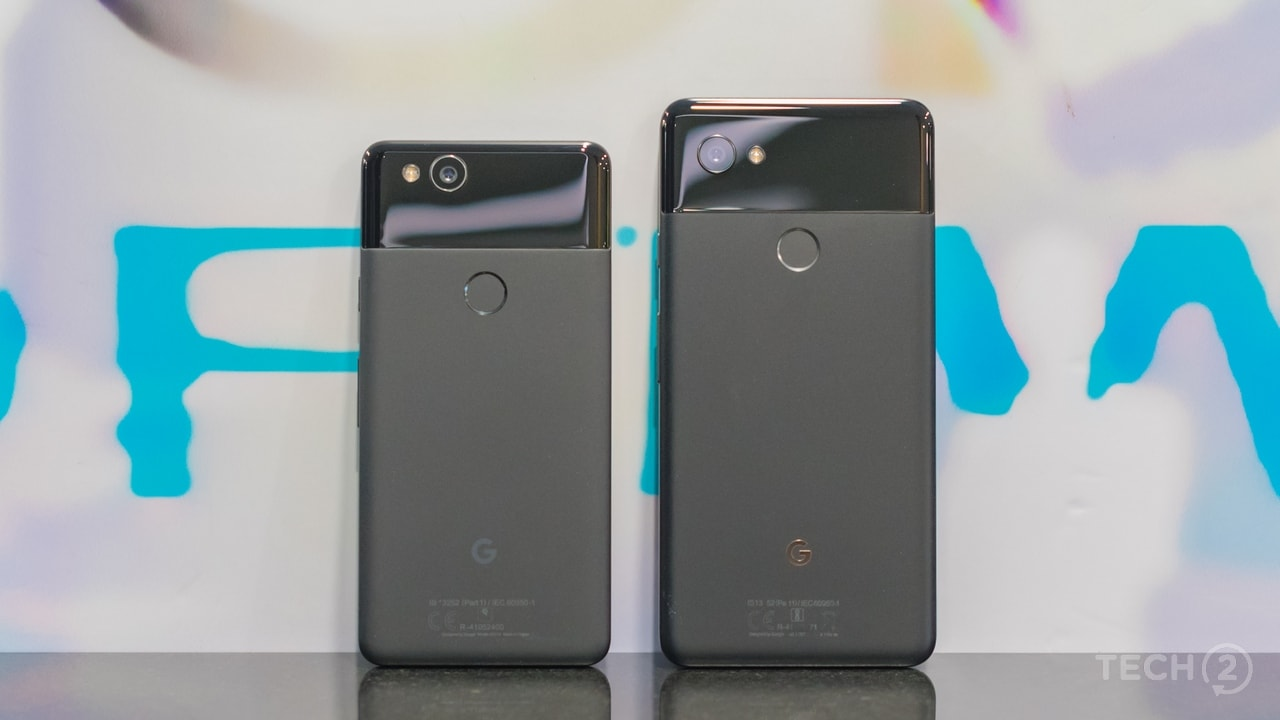 The matte coating of the on the Pixel 2 and the Pixel 2 XL look and feel great. Image: tech2/Rehan Hooda