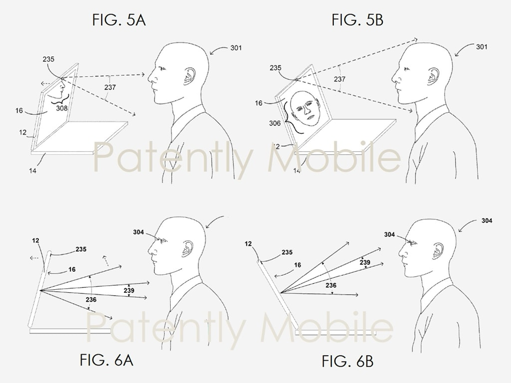 Google has been granted a patent for a smart, motorised laptop lid that can automatically track a users face