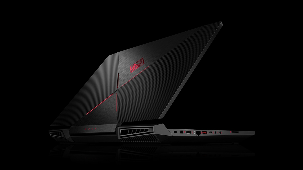 The HP Omen 17.