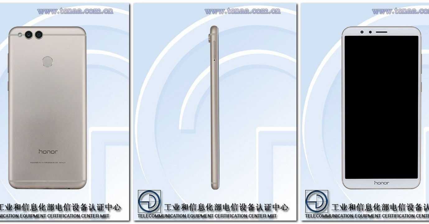Honor V10 leaked Images. TENAA