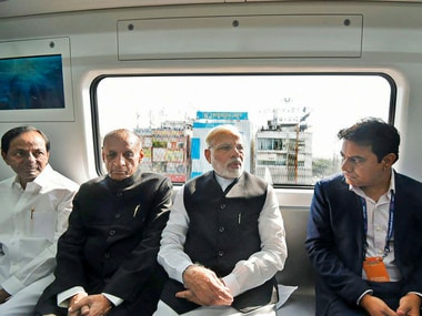 Narendra Modi inaugurates Hyderabad Metro: 30-km-long project cost Rs 16,000 crore, was stuck in limbo for decades