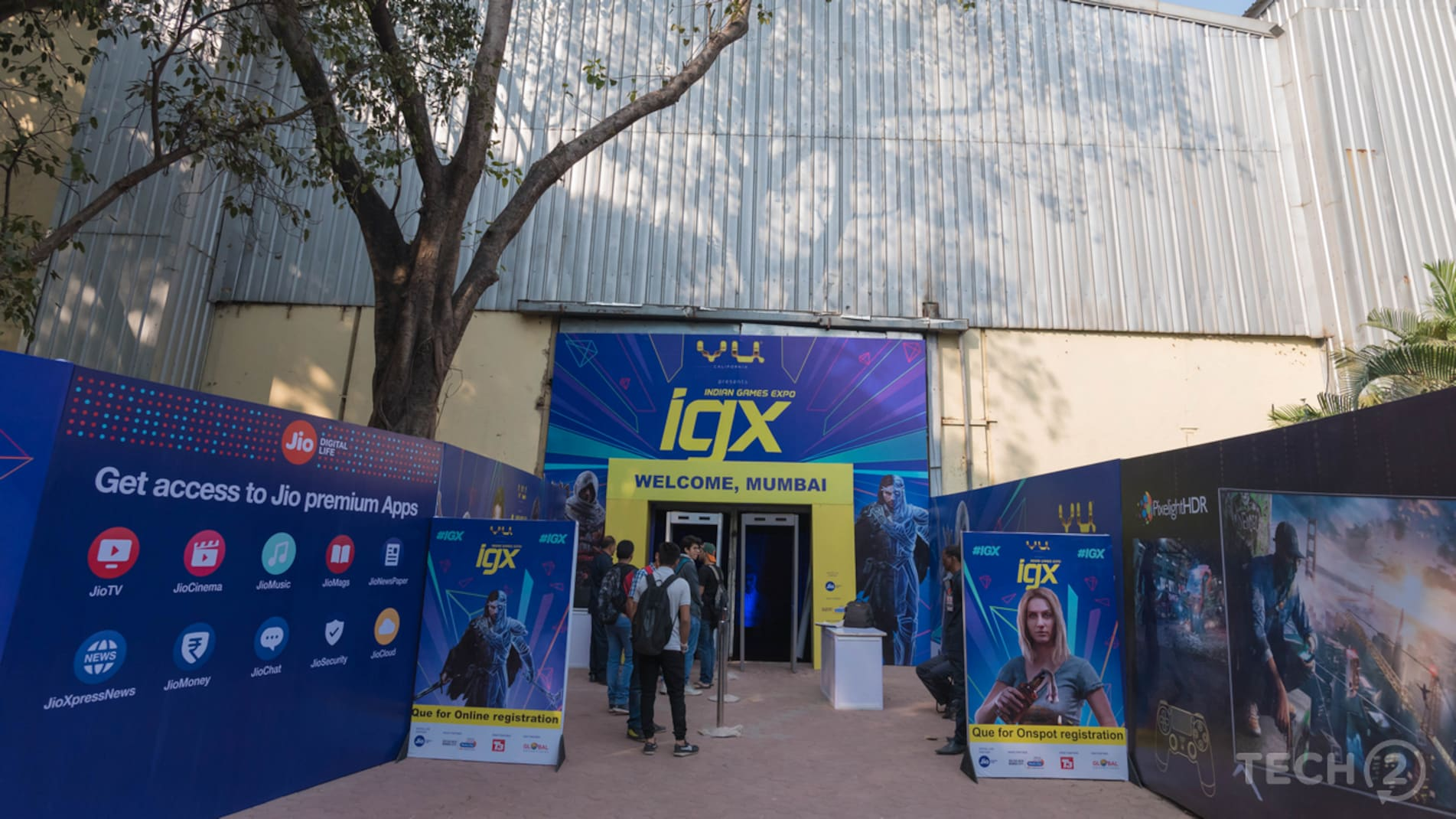 This time the Indian Games Expo was held at Bombay Exhibition Centre in Goregaon, Mumbai. Image: tech2/Rehan Hooda