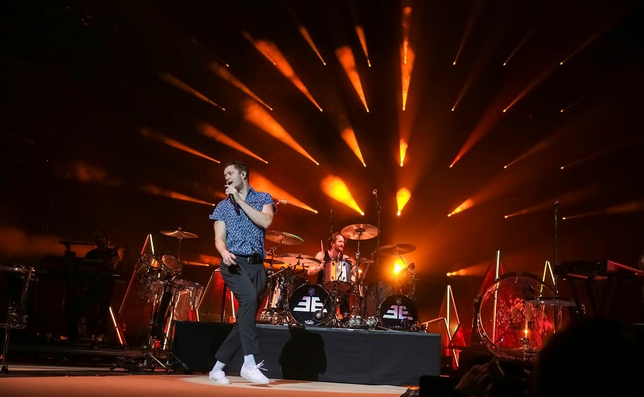 It is a four piece rock band which has a Grammy, two AMAs and five Billboard Music Awards to their credit. Image from AP