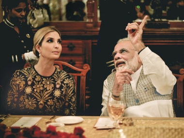 Ivanka Trump in India: Congress' focus on Narendra Modi breaking protocol shows it is petty and peeved at not being invited