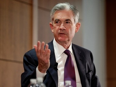 US Fed chief Jerome Powell. Reuters image.