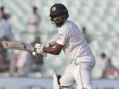 Lahiru Thirimanne was unbeaten on 9 at stumps on Day 3 of the 2nd Test. AP