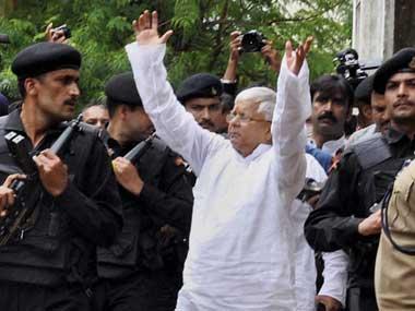 File image of Lalu Prasad Yadav. PTI