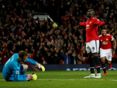File image of Manchester United striker Romelu Lukaku. Reuters