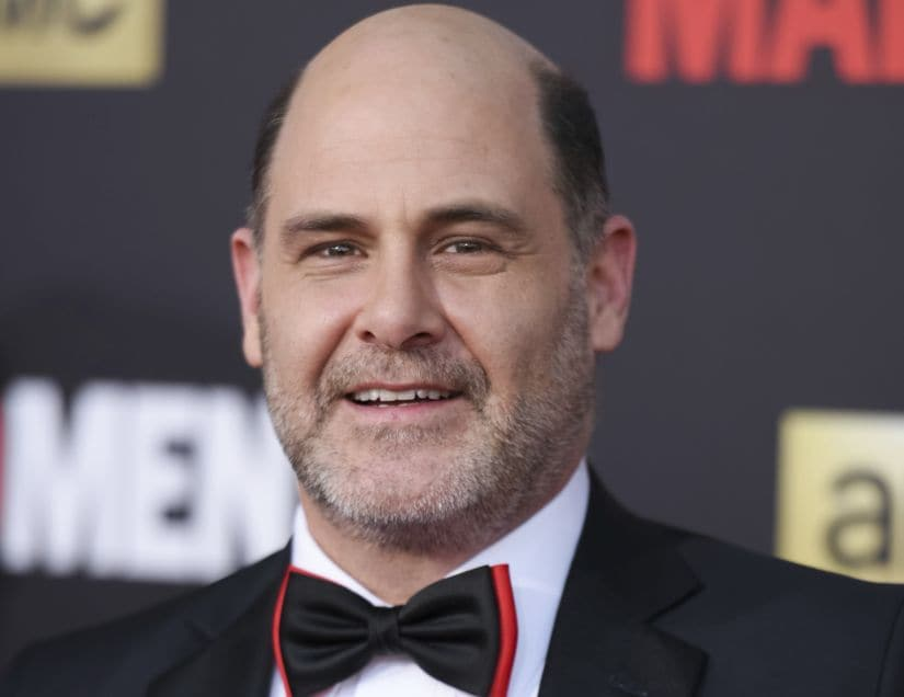 "FILE - In this March 25, 2015 file photo, Matthew Weiner arrives at The Black And Red Ball In Celebration Of The Final Seven Episodes Of ""Mad Men"" in Los Angeles. A former writer on ""Mad Men"" tells the website The Information that series creator Weiner harassed her at work. The allegation by Kater Gordon was reported Thursday, Nov. 9, 2017, and denied in a statement released by Weiner's publicist. (Photo by Richard Shotwell/Invision/AP, File)"